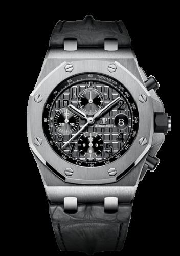 Royal Oak Offshore 26470 Stainless Steel / Grey / Alligator