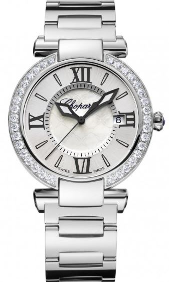 Ladies Chopard Imperiale Steel Diamond Watch