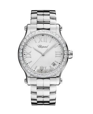 Ladies Chopard Diamond Happy Sport Bracelet Watch