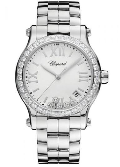 Ladies Chopard Happy Sport Bracelet Diamond Watch