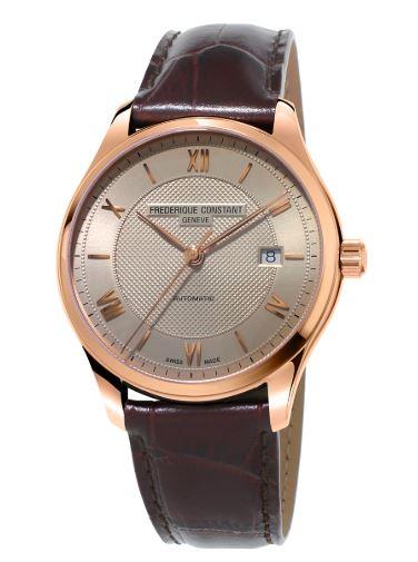 Frederique Constant Gents Index Automatic Strap Watch