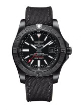 Avenger II GMT Black Steel / Volcano Black / Military