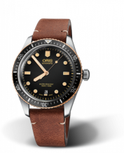 Divers Sixty-Five 40 Stainless Steel / Bronze / Black / Calf