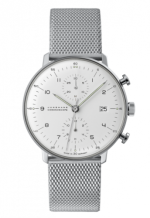 Max Bill Chronoscope Silver Bracelet