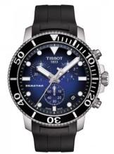 Gents Tissot T-Sport Seastar 1000 Chronograph Rubber Strap Watch